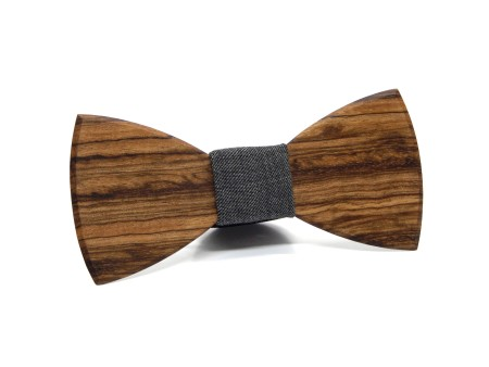 exallo-sierra-wooden-fabric-bow-tie